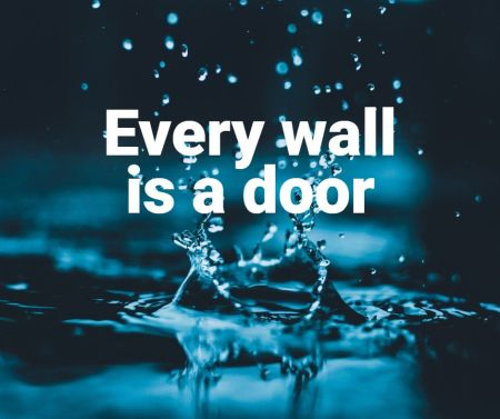 Ralph Waldo Emerson - Every Wall is a door
