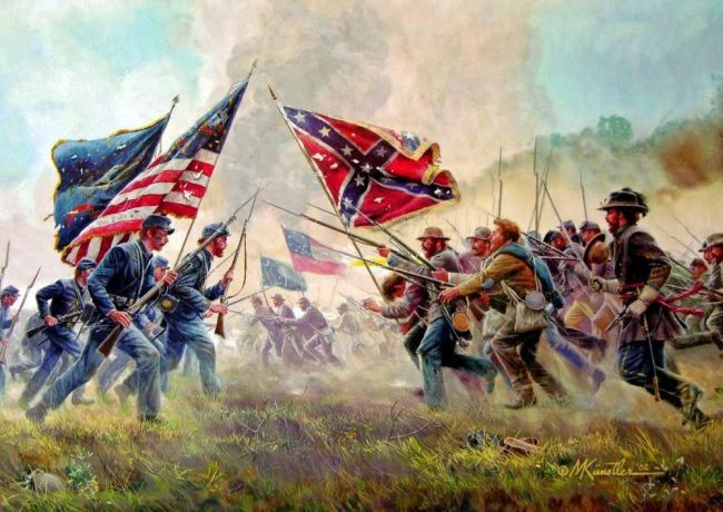 Civil War Quiz: match the battle with the winning side
