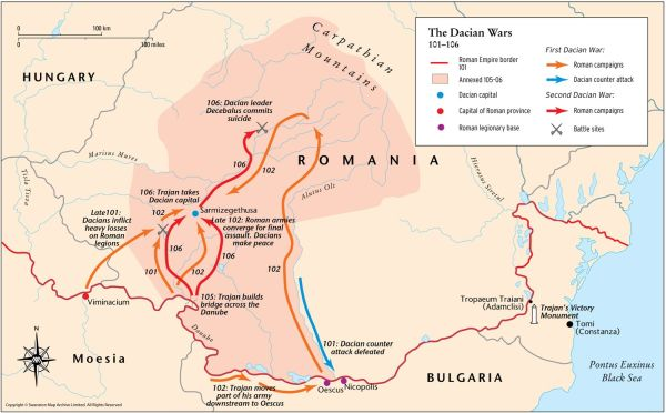 10 facts about Decebalus. Trajan's greatest enemy