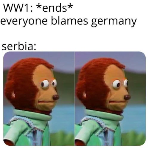 WWI memes Germany guilty