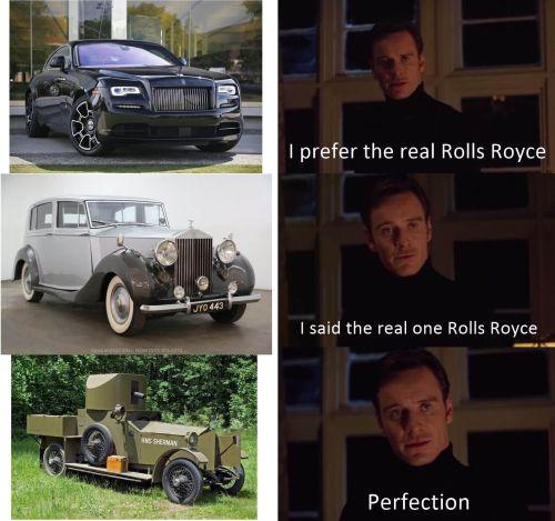 WWI memes, rolls royce