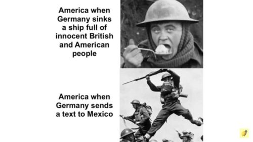 WWI USA joins the war