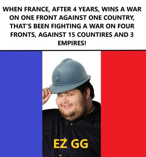 WWI memes France
