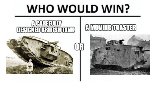 WWI memes tanks