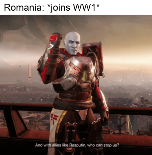 WWI memes, Romania joins the war
