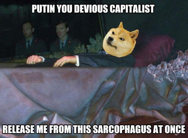 1.The real reason Lenin doesn't rise from his Maousoleum from Red Square