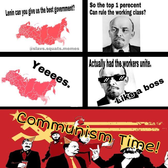 All workers unite! It is game over for the Tsar and the burgeois