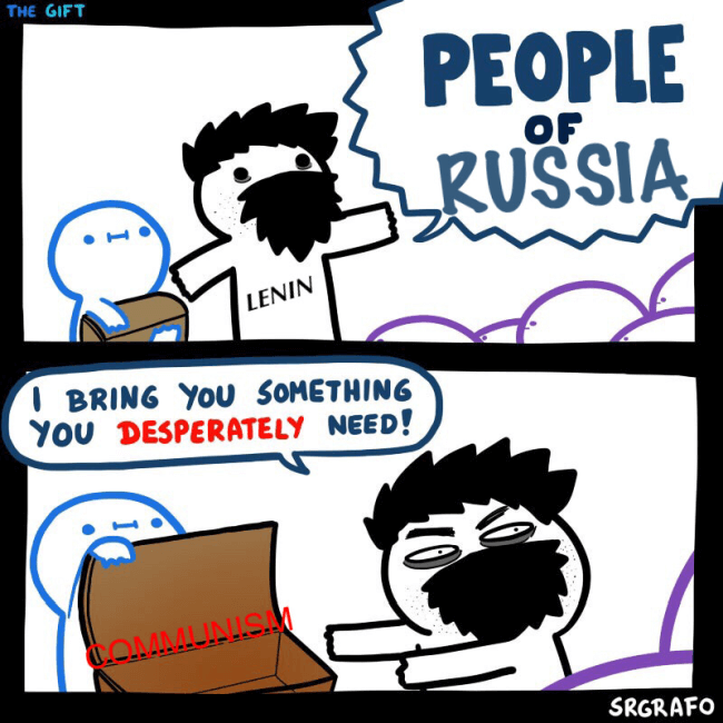3.When you find the perfect solution to all Russia's problem and you present it to the public.