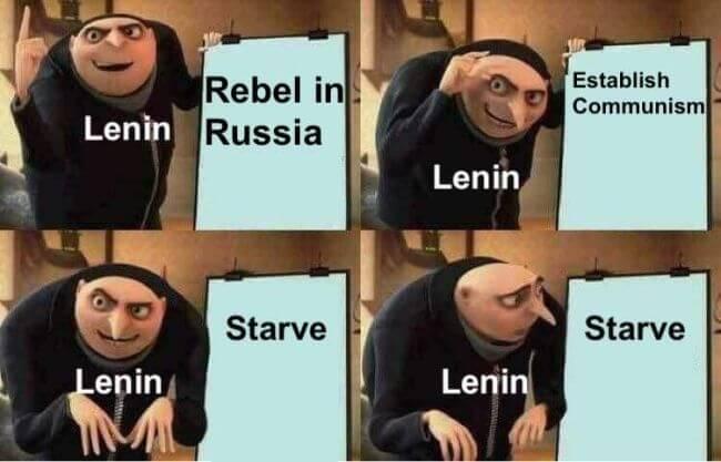 Lenin's great plan for Russia, summarized