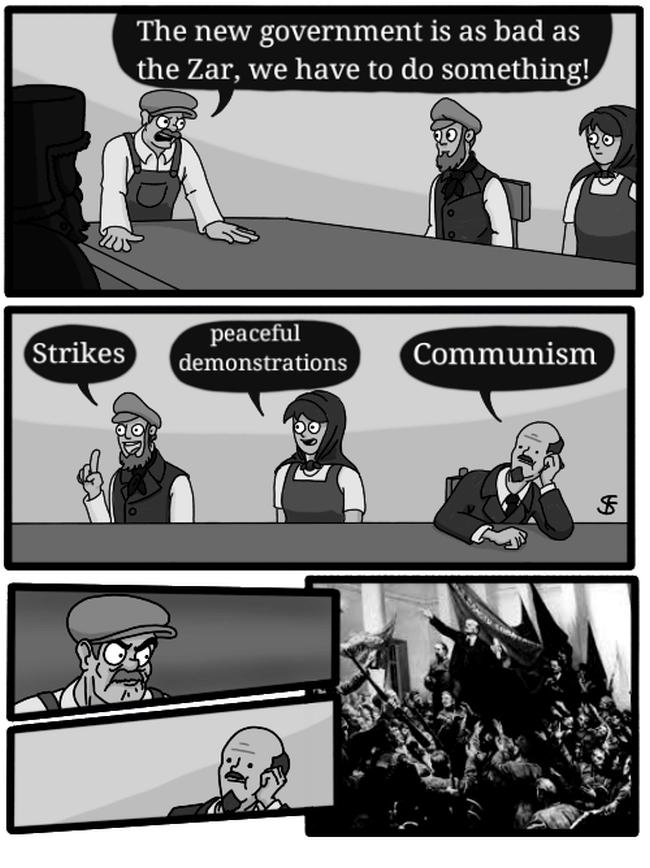 Lenin memes all power to the soviets