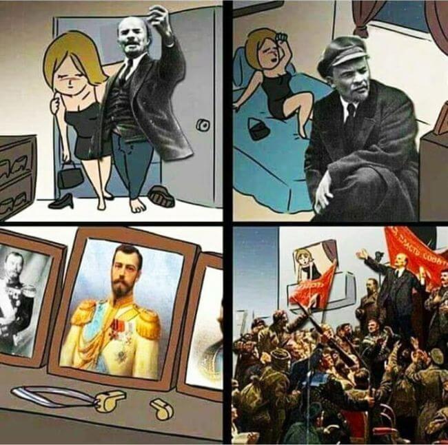 Lenin versus the Tsar