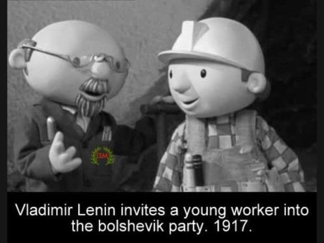 Lenin memes, recruiting workers for the World Revolution