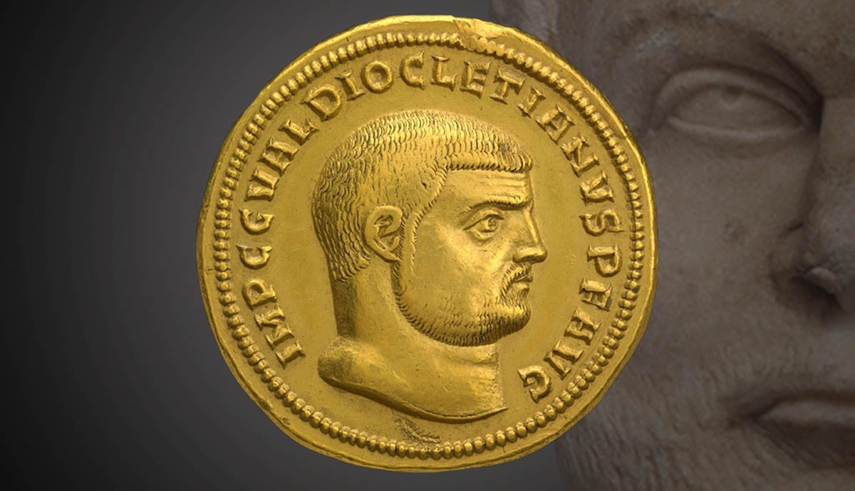 infographic about diocletian
