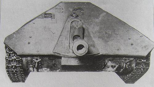 Maresal Tank Destroyer M-00 prototype, completely built