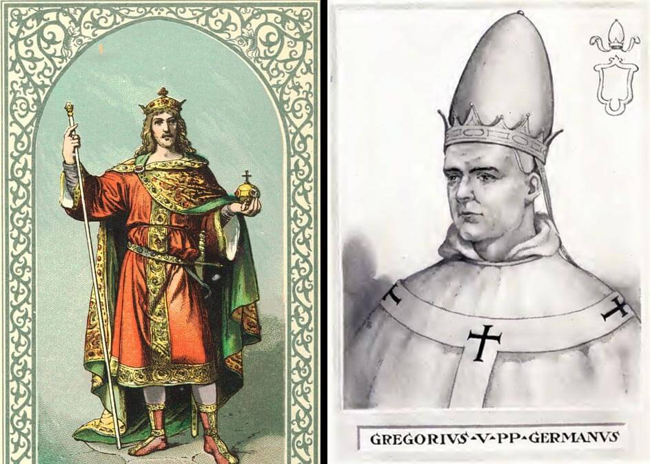 Pope Gregoy V interesting facts
