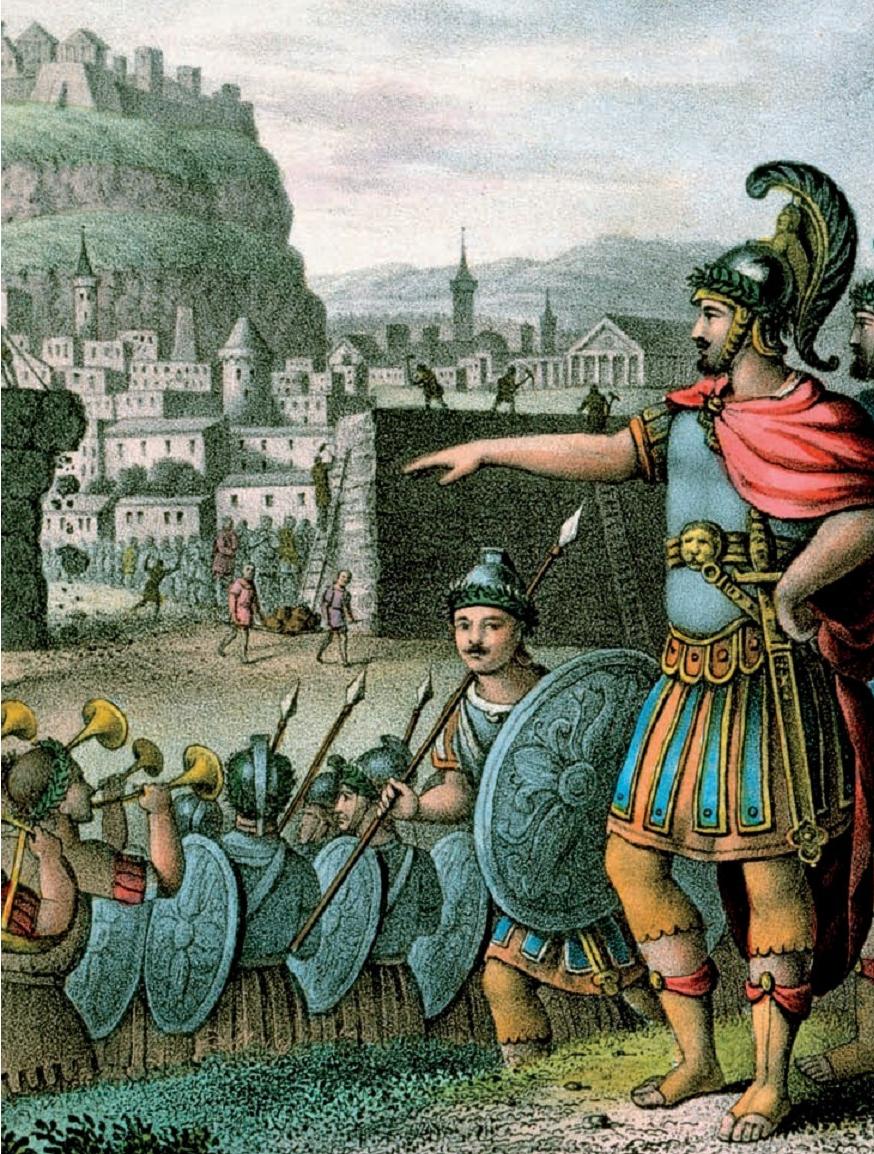 lysander in battle
