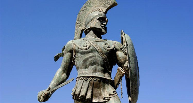monument to king leonidas