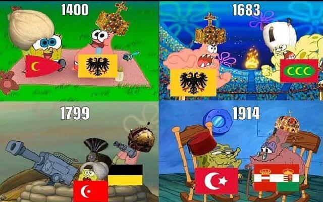 Austria Hungary - Ottoman empire memes
