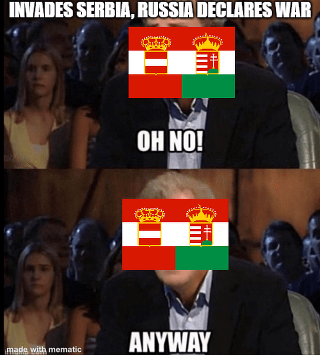 Russia declares war on Austria-Hungary, what now?