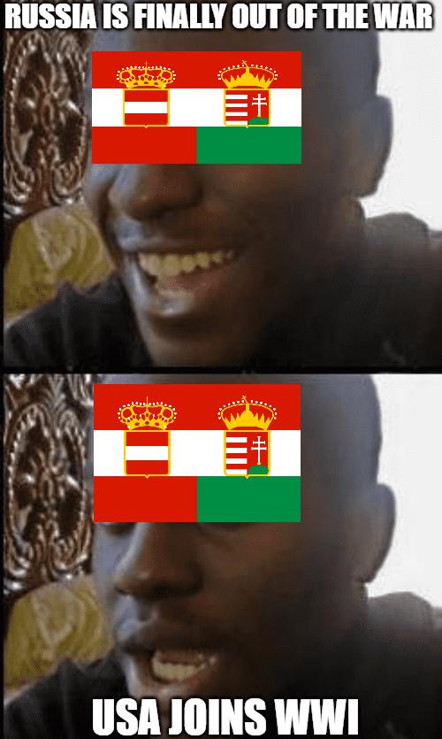USA joins WWI meme