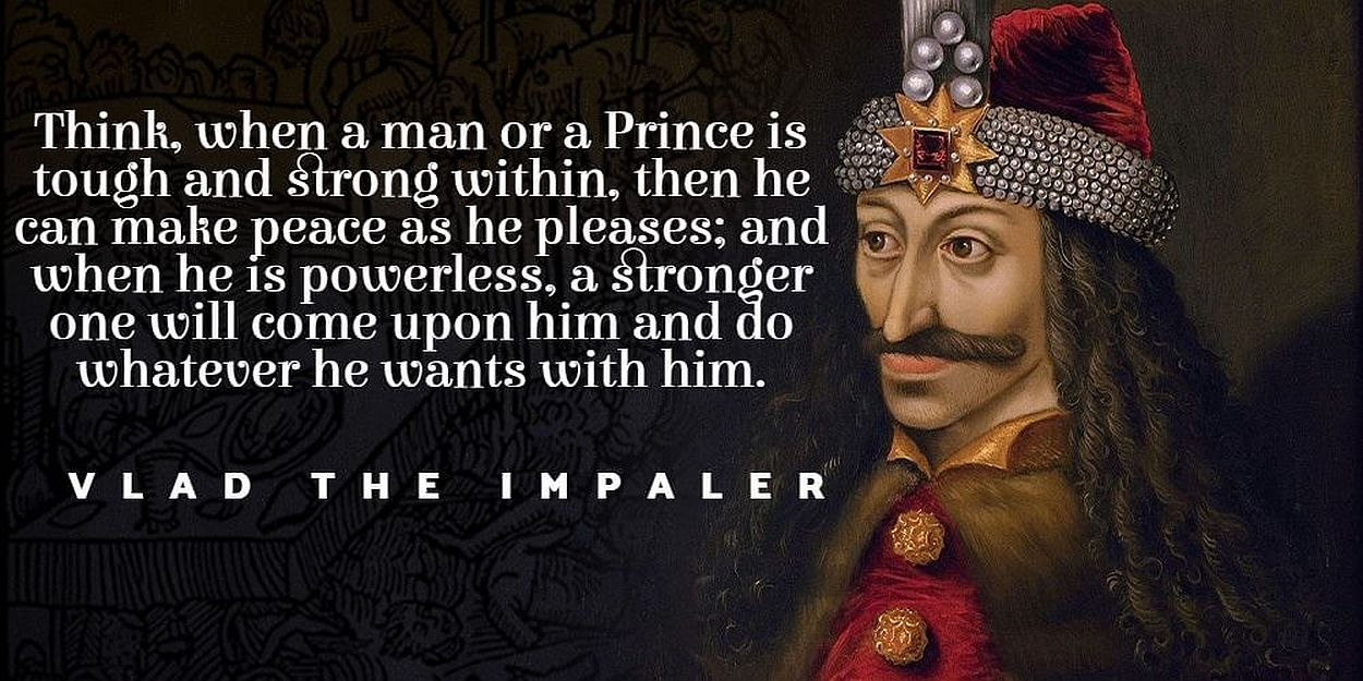 15 historical Vlad the Impaler quotes you don't know