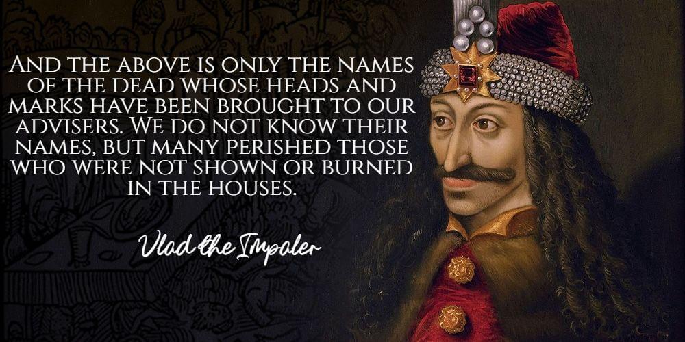 Vlad the Impaler famous quotes
