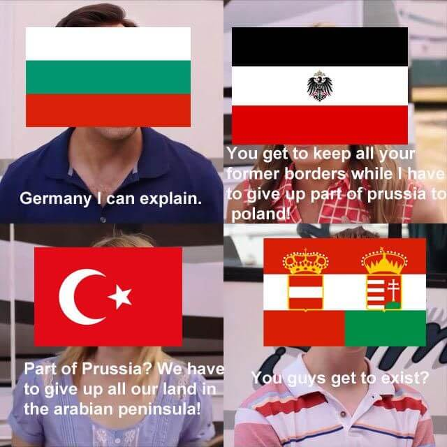 WWI Central Power memes