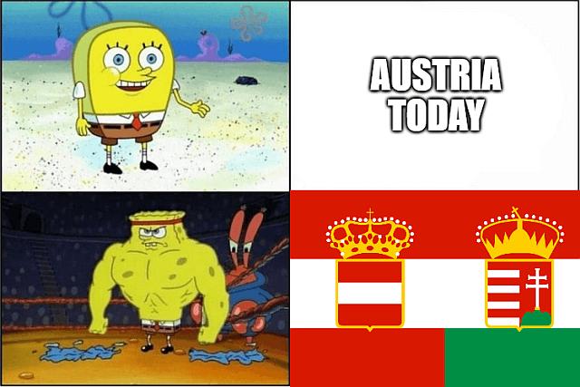 Austria-Hungary vs Austria