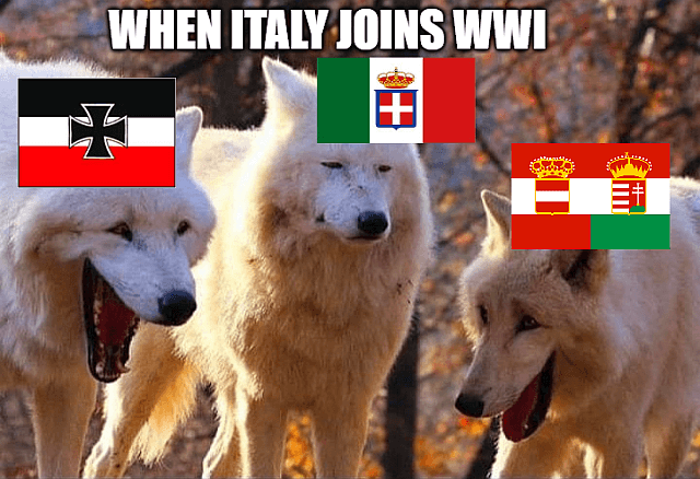 Memes: When Italy joins WWI