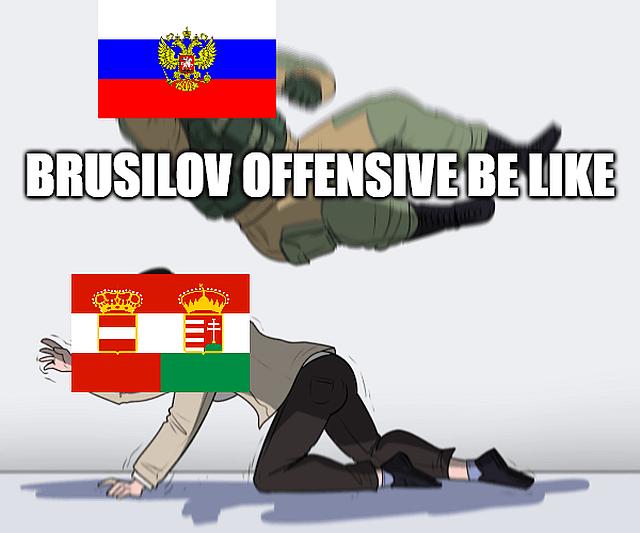 Brusilov Offensive memes