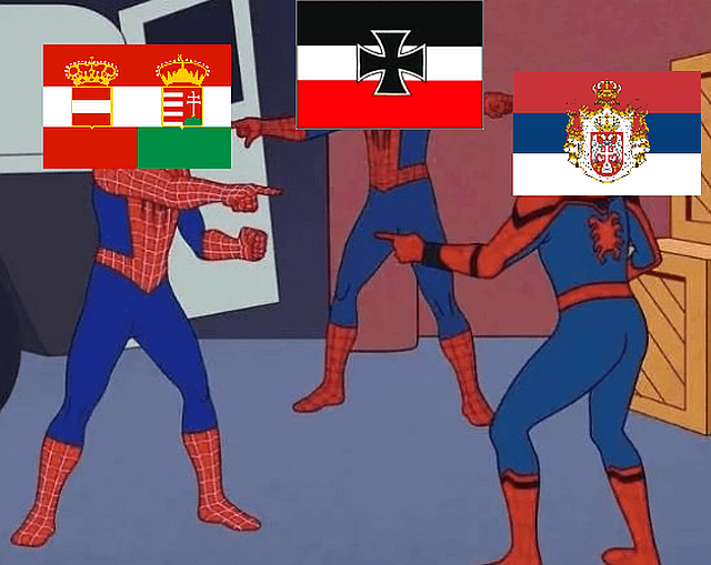 Germany guilty for WWI memes