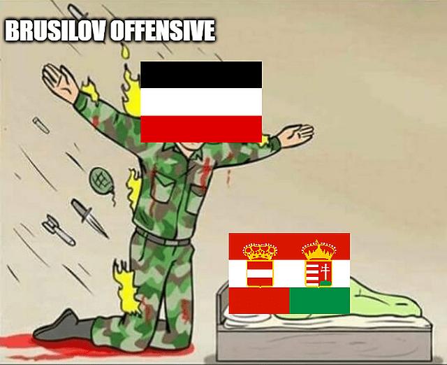 Brusilov offensive meme