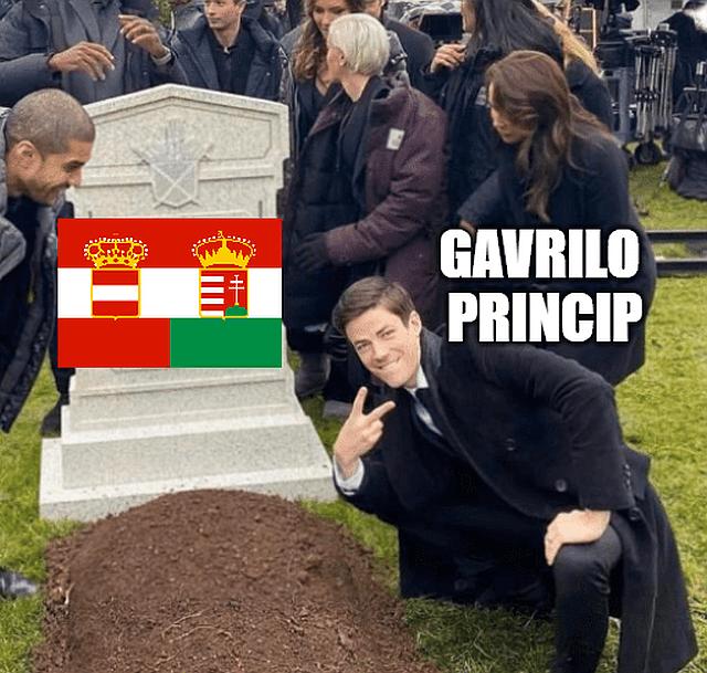 Gavrilo Princip meme