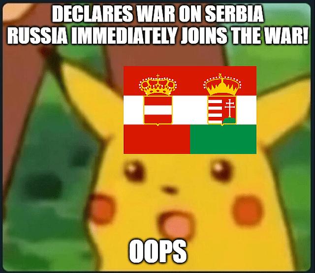 Austria Hungary WWI memes