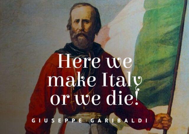 80 Giuseppe Garibaldi Quotes