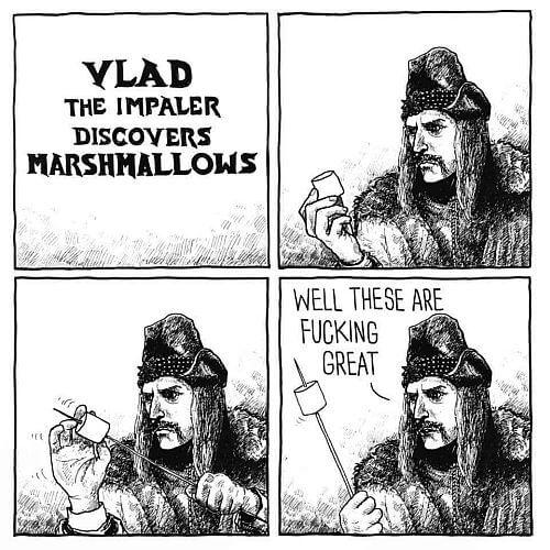 Vlad the Impaler has a moment of genius