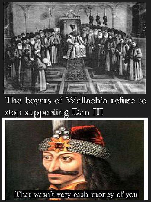 Vlad the Impaler versus the boyars of Wallachia
