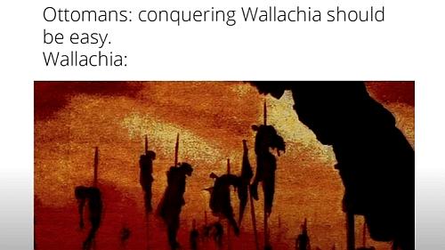 Vlad the Impaler versus Mehmed II meme